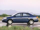 Toyota Corolla US-spec 2002–08 photos