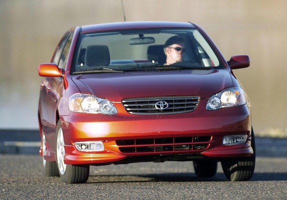 toyota corolla s us spec 2002 08 pictures favcars com