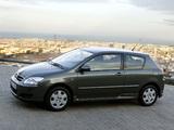 Toyota Corolla 3-door 2004–07 images