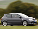 Toyota Corolla T-Sport 3-door UK-spec 2004–07 pictures
