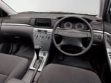 Toyota Corolla Sedan JP-spec 2004–06 wallpapers