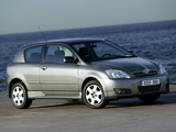 Toyota Corolla 3-door 2004–07 wallpapers