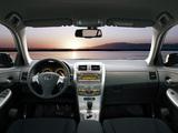 Toyota Corolla EU-spec 2007–10 images