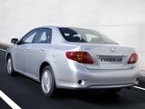 Toyota Corolla EU-spec 2007–10 wallpapers