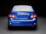 Toyota Corolla S3 US-spec 2008–10 photos
