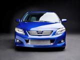 Toyota Corolla S3 US-spec 2008–10 pictures