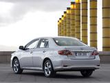 Toyota Corolla EU-spec 2010 images