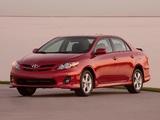 Toyota Corolla S US-spec 2010 images