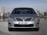 Toyota Corolla EU-spec 2010 photos