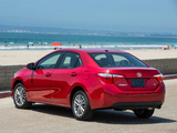Toyota Corolla LE US-spec 2013 images