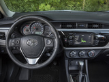 Toyota Corolla LE US-spec 2013 wallpapers