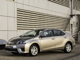 Toyota Corolla ZA-spec 2014 images