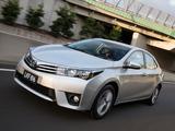 Toyota Corolla Sedan ZR 2014 images