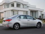 Toyota Corolla Sedan ZR 2014 photos