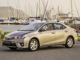 Toyota Corolla ZA-spec 2014 photos