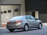 Toyota Corolla ZA-spec 2017 images