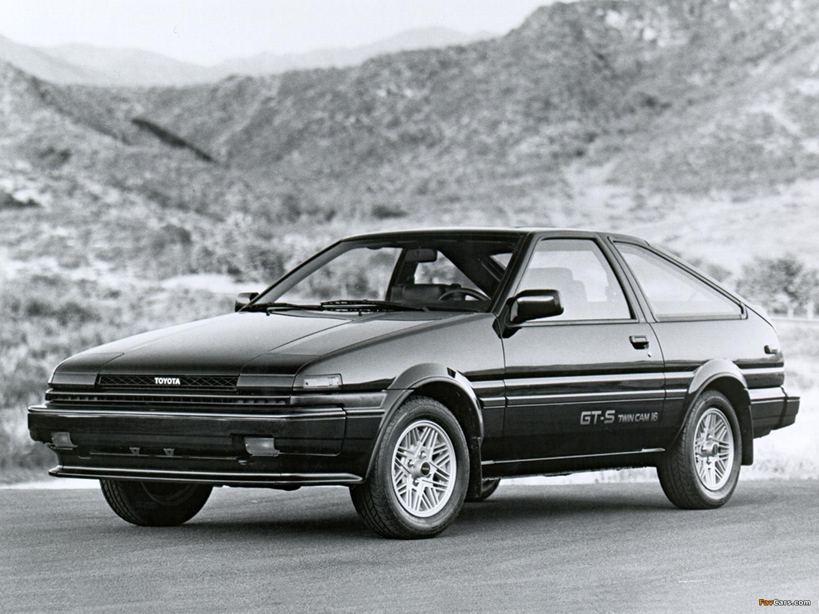 Toyota Corolla Gt S Sport Liftback Ae86 1985 86
