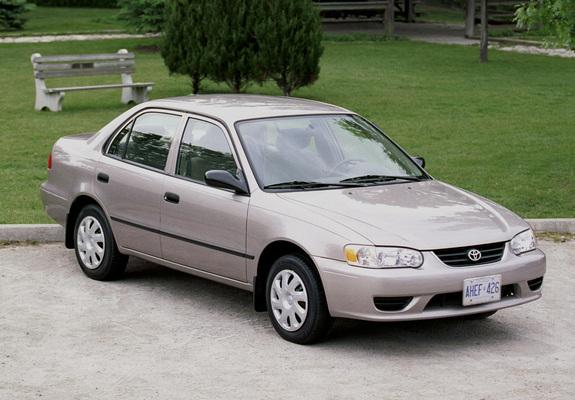 Corolla Sedan USspec 200102 wallpapers