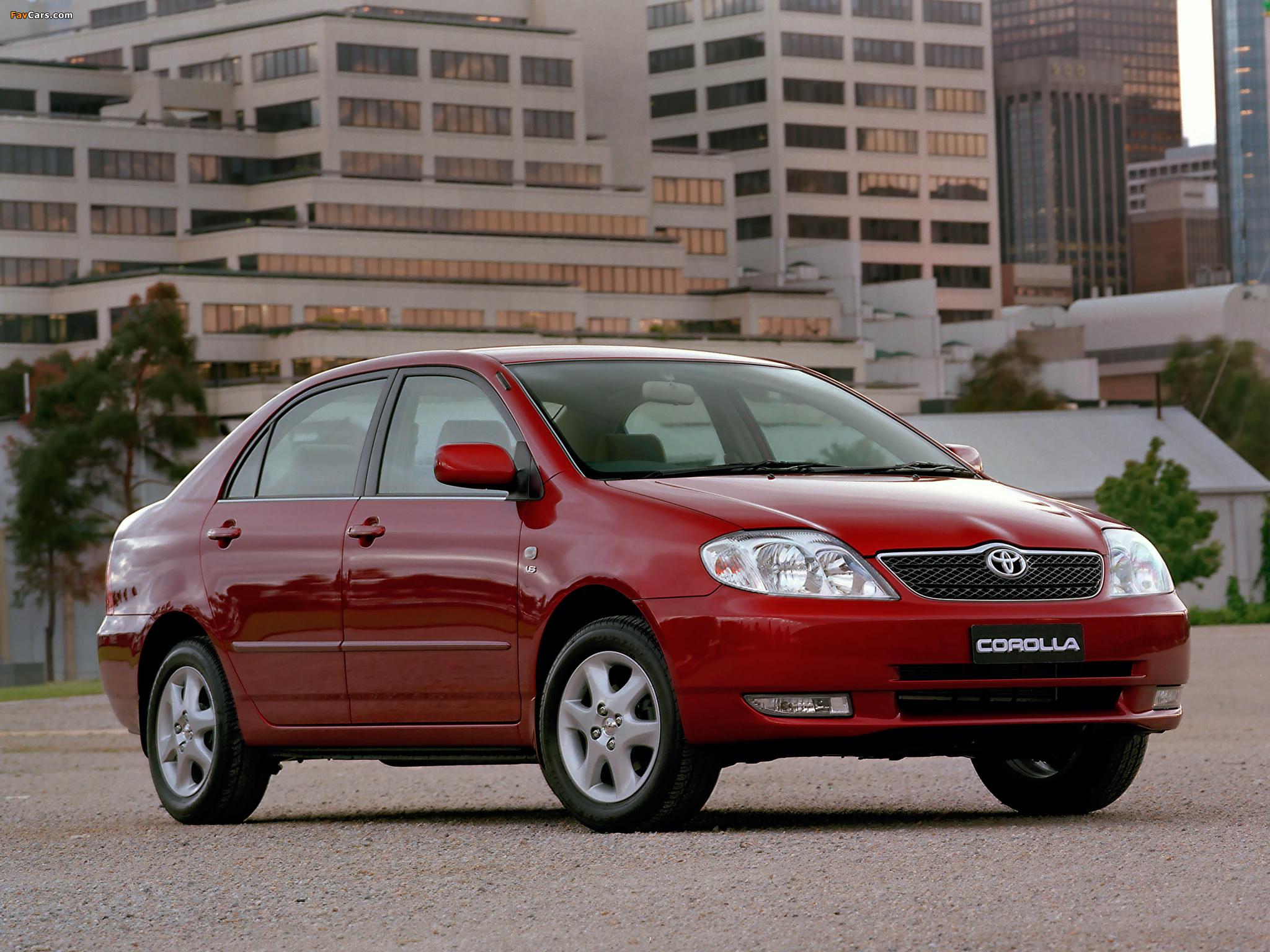 Технические характеристики Toyota Corolla / Тойота Королла ...