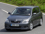 Toyota Corolla T-Sport 3-door UK-spec 2004–07 wallpapers