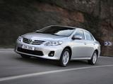 Toyota Corolla EU-spec 2010 wallpapers