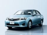 Toyota Corolla Axio Hybrid G 2013 wallpapers