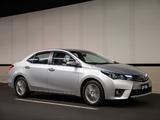 Toyota Corolla Sedan ZR 2014 wallpapers