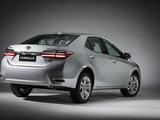 Toyota Corolla XEi Latam 2017 wallpapers