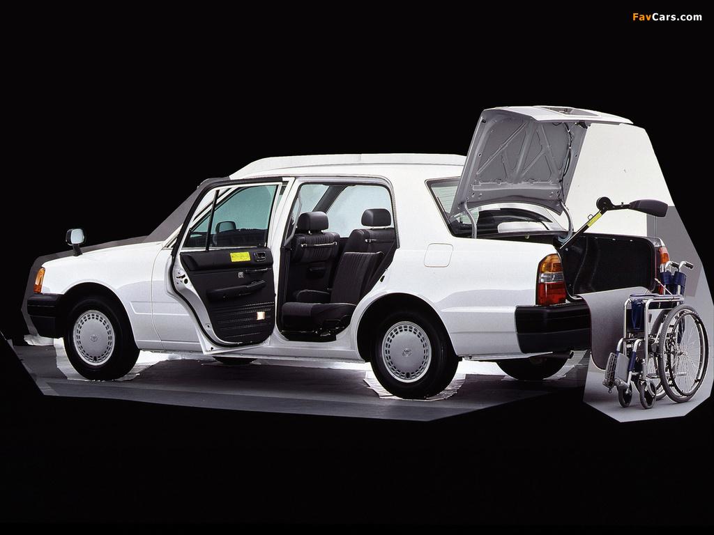 Toyota Comfort (S10) 1995 images (1024 x 768)