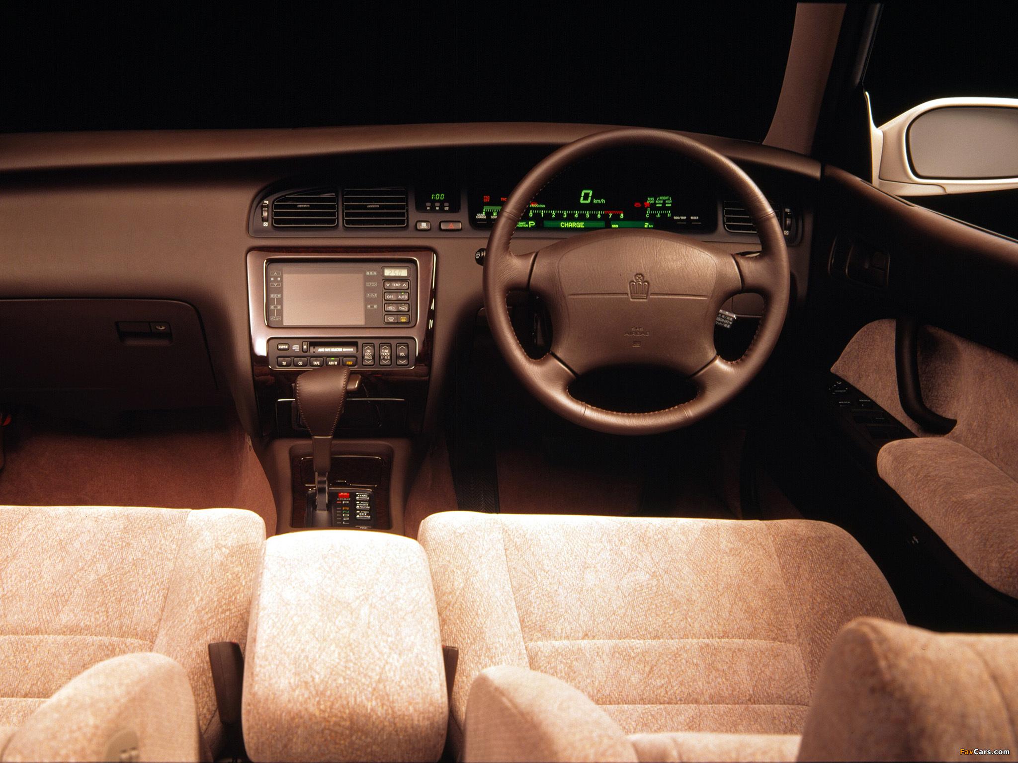 Toyota Crown 155 кузов мануал #10