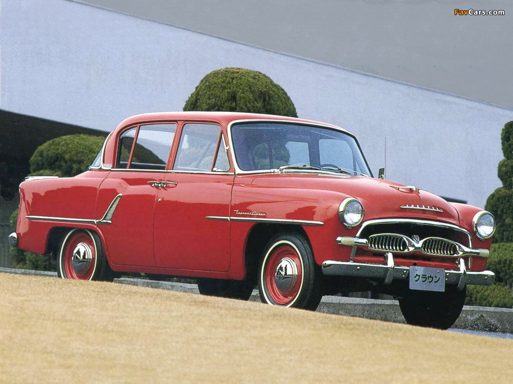 Toyopet Crown Rs L S30 1958 62 Pictures 1024x768