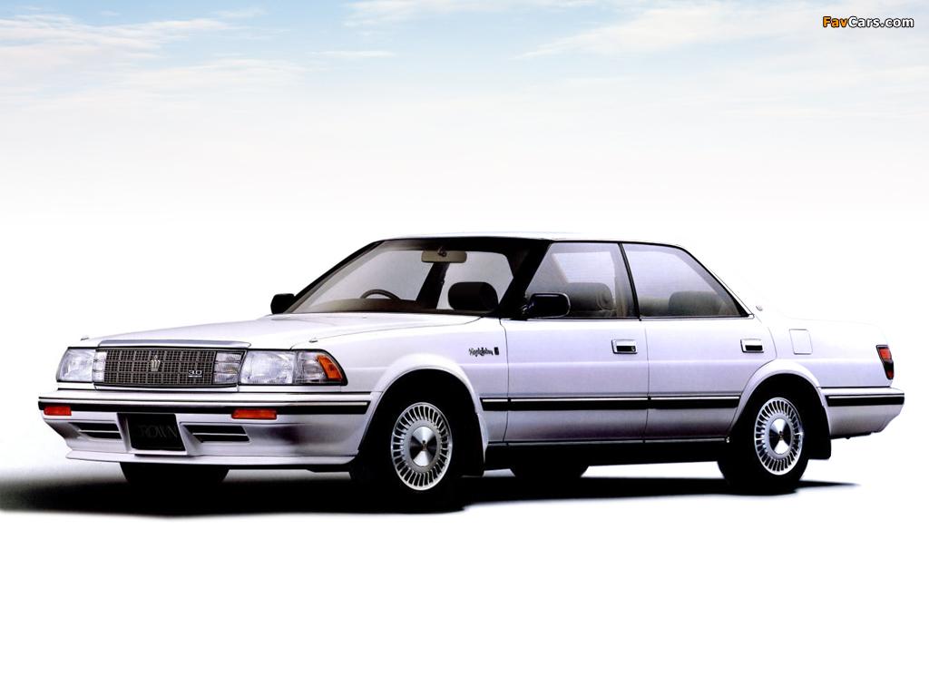 Toyota Crown Royal Saloon G 3 0 Hardtop Ms137 1987 91