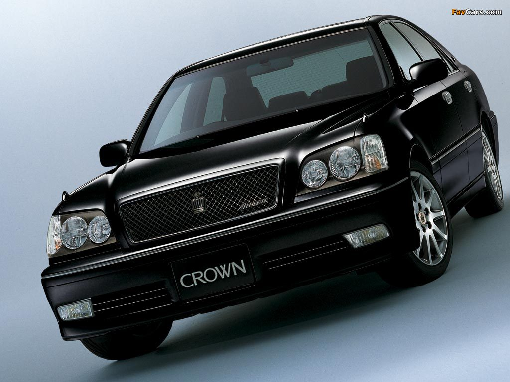 Toyota Crown Athlete S170 1999 2003 Wallpapers 1024x768