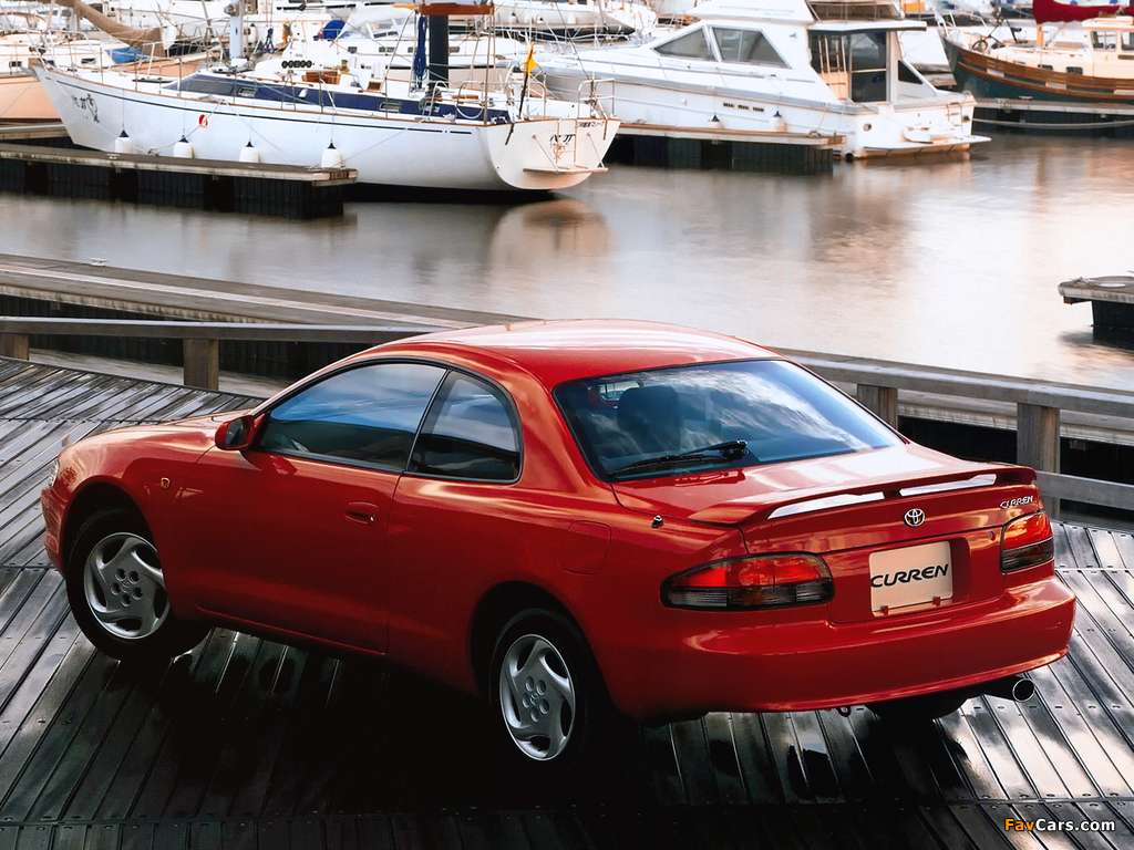 Images of Toyota Curren (ST200) 1995–98 (1024 x 768)