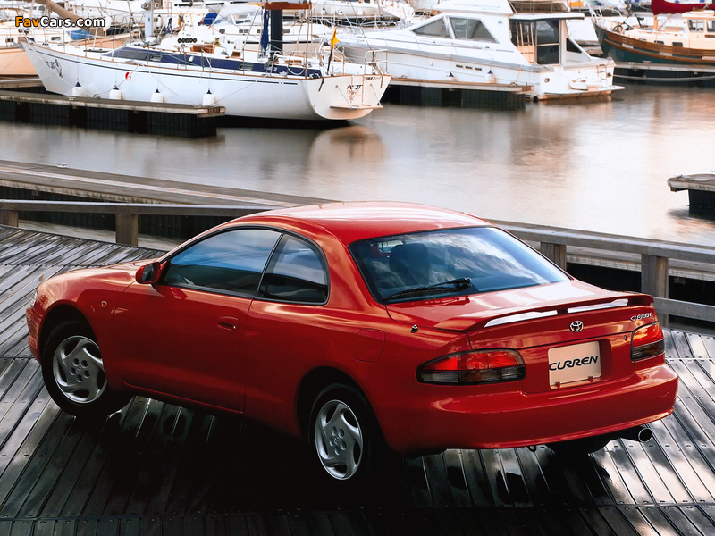 Images of Toyota Curren (ST200) 1995–98 (800 x 600)