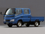 Images of Toyota Dyna Double Cab 1999–2002