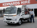 Images of Toyota Dyna 4500 AU-spec 2001–02