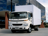 Pictures of Toyota Dyna 6500 AU-spec 2001–02