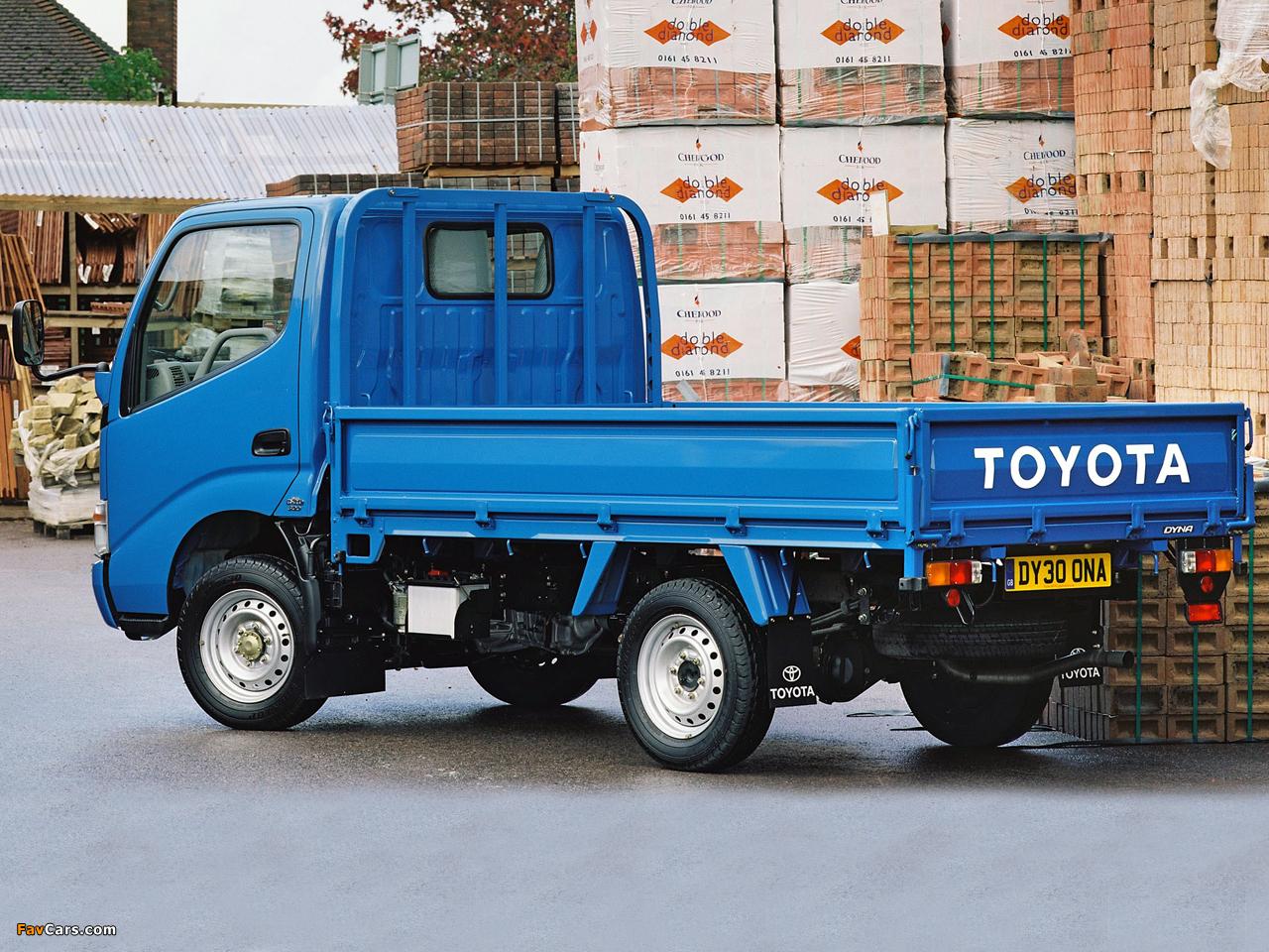 Toyota Dyna 300 Uk Spec 1999 2002 Images 1280x960