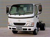 Toyota Dyna 150 Chassis Cab AU-spec 2001–02 wallpapers