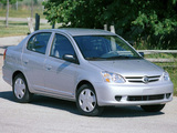 Toyota Echo 4-door 2003–05 wallpapers