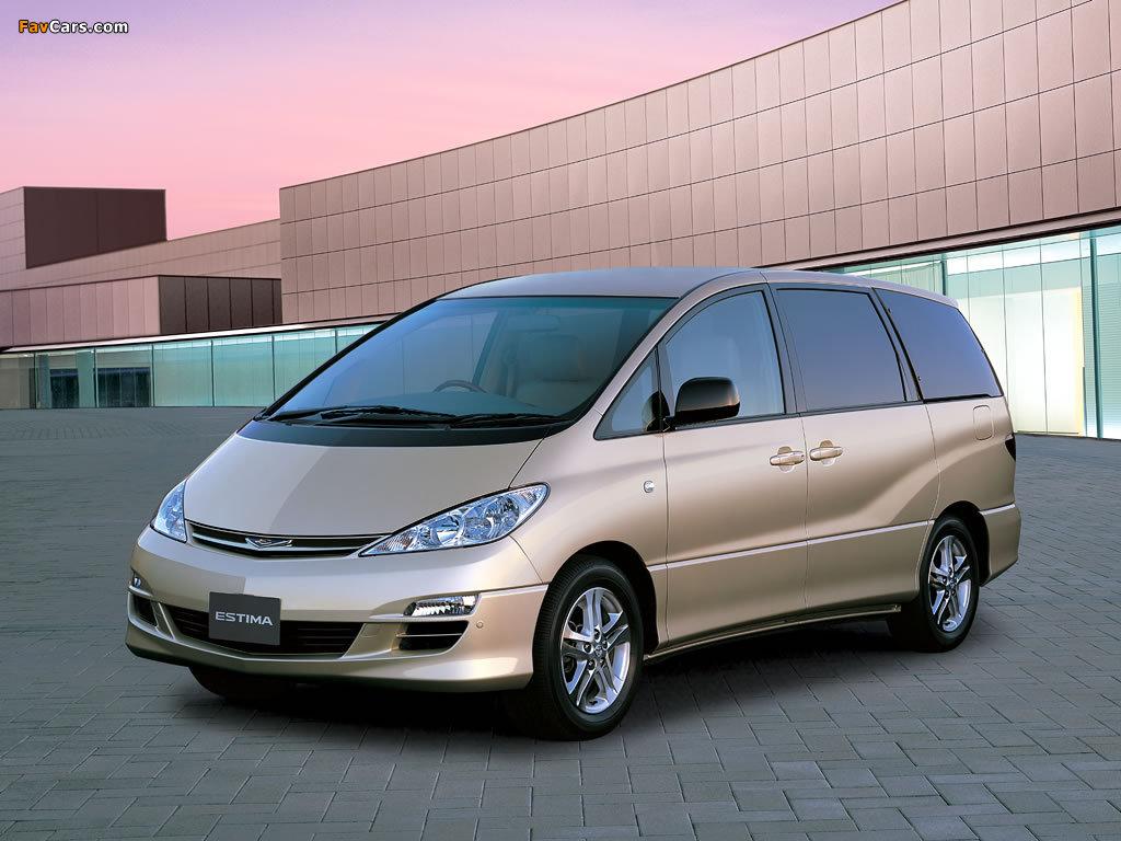Images of Toyota Estima 2003–05 (1024 x 768)
