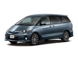 Photos of Toyota Estima Hybrid Aeras 2012