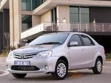 Photos of Toyota Etios Sedan ZA-spec 2012