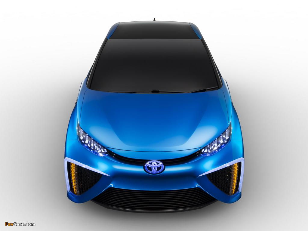 Toyota FCV Concept 2013 images (1024 x 768)