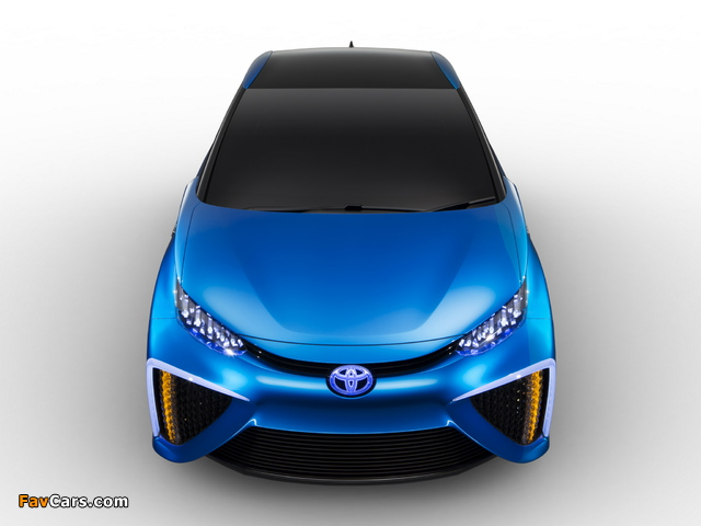 Toyota FCV Concept 2013 images (640 x 480)