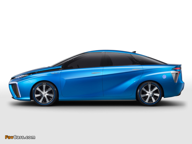 Toyota FCV Concept 2013 pictures (640 x 480)