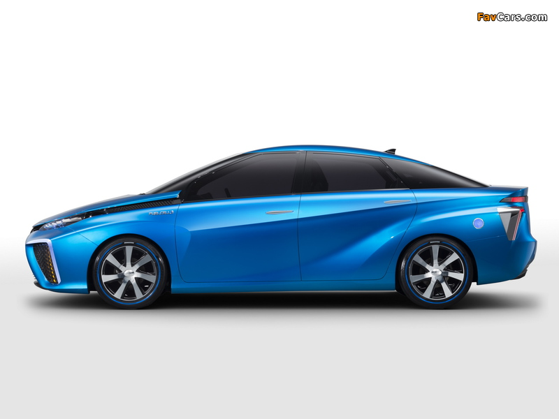 Toyota FCV Concept 2013 pictures (800 x 600)