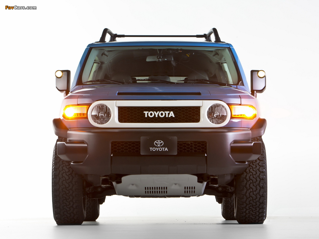 Images of Toyota FJ Cruiser Trail Teams Ultimate (GSJ15W) 2014 (1024 x 768)