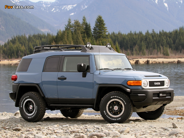 Images of Toyota FJ Cruiser Trail Teams Ultimate (GSJ15W) 2014 (640 x 480)